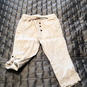 Zara Toddler boy linen pants